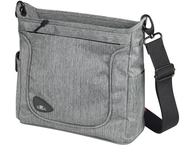 KlickFix Allegra Fashion Lenkertasche grey